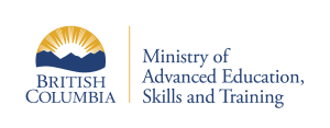 Logo: BC Ministry of Advanced Education, Skills & Training