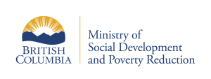 Logo: BC Ministry of Social Development and Poverty Reduction